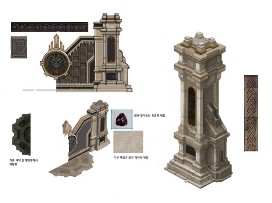 从细处看品质 《黑暗信仰》建筑部件细节曝光
