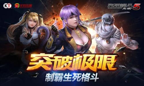 《生死格斗5无限》4月13日新版本来袭??休闲竞技两不误