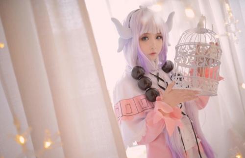 小林家的龙女仆小林康娜cosplay