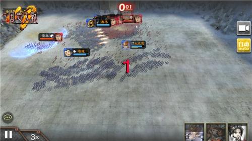 被擒王上线 《三国志大战M》公布南蛮入侵玩法