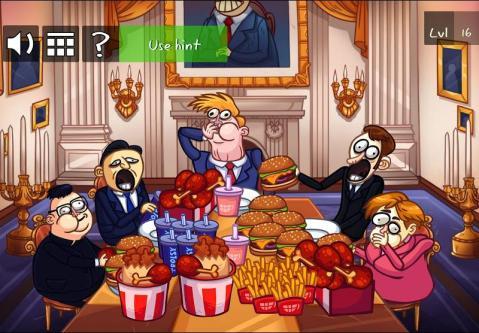 恶搞美国人的手机游戏