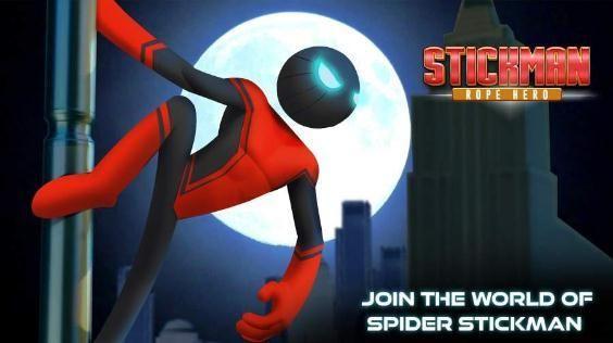 蜘蛛英雄火柴人展示游戲安卓版下載