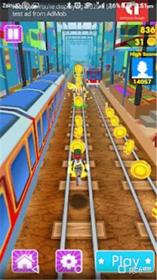 地鐵嬰兒趣味跑酷手游破解版下載