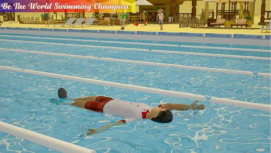 游泳池水上比賽趣味體育手游破解版下載