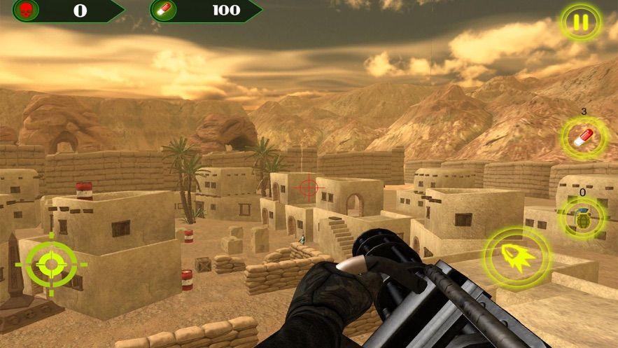 槍戰模擬器戰斗手游破解版下載