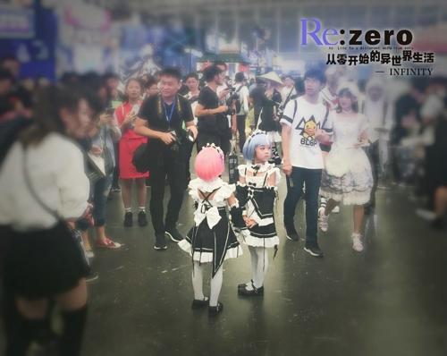 萤火虫漫展,《Re:Zero INFINITY》的第一次线下亮相,满满的感动与回忆。
