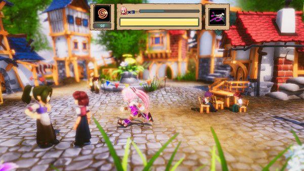 靈石鏡世序破解版下載日系冒險戰斗手游