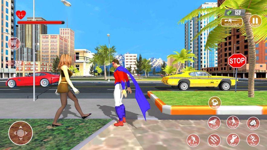 超級英雄飛行模擬器趣味手游破解版下載