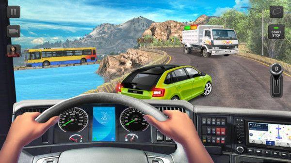 歐洲重型卡車破解版下載模擬駕駛手游