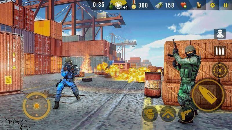現代打擊力量破解版下載競技槍戰手游