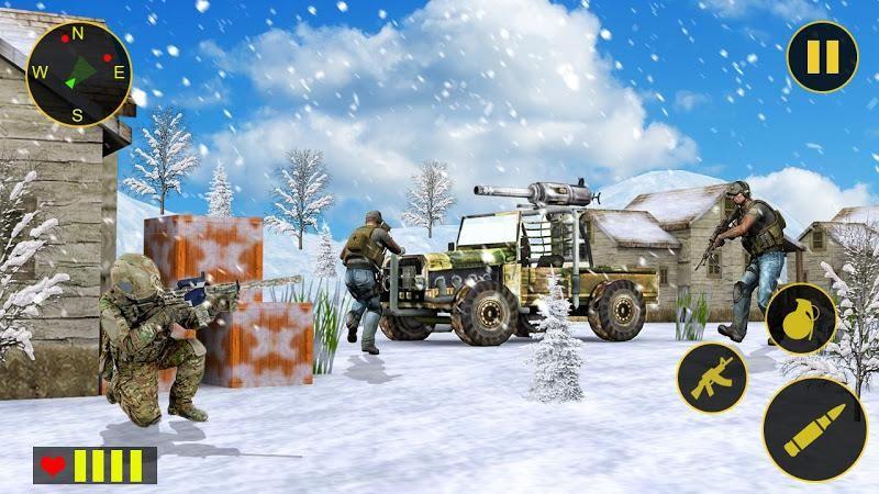 陸軍反突擊隊福利版下載激情射擊戰斗手游