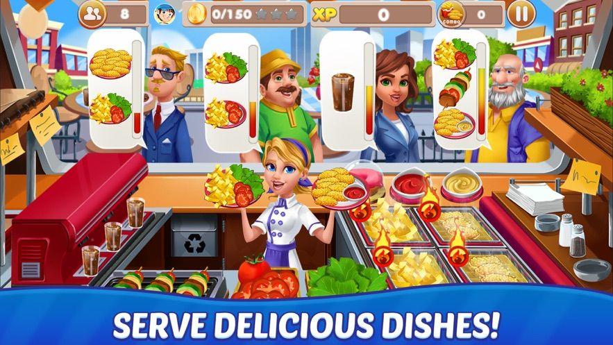 烹飪和廚師破解版下載趣味模擬經營手游