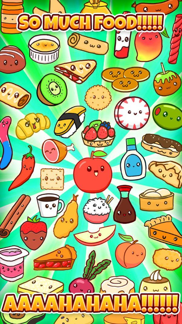 可愛的食物們破解版下載休閑趣味手游