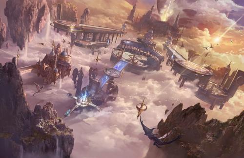 《天空之门》凭啥敢自称开启魔幻手游新纪元