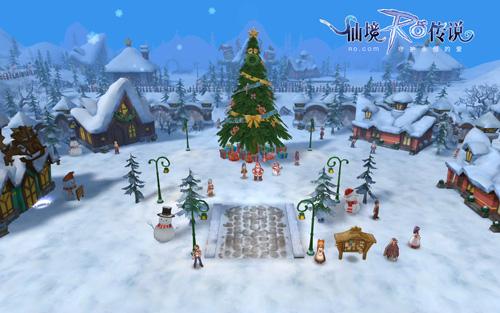爱在RO雪季,明日共赴姜饼城之约!