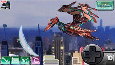 風神翼龍機器人破解版下載橫版戰斗手游