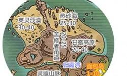 創造與魔法面包島資源如何分布