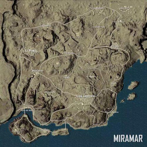 绝地求生新地图资源点推荐_绝地求生大逃杀新地图资源分布图